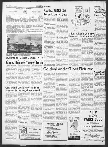 Daily Trojan, Vol. 41, No. 119, April 20, 1950