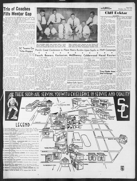 Daily Trojan, Vol. 41, No. 2, September 12, 1949