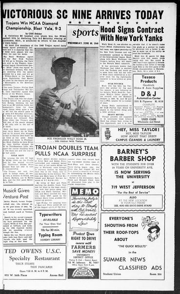Summer News, Vol. 3, No. 5, June 30, 1948