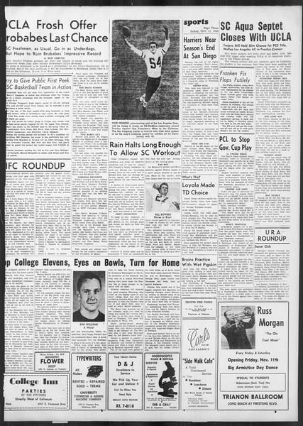 Daily Trojan, Vol. 41, No. 45, November 11, 1949