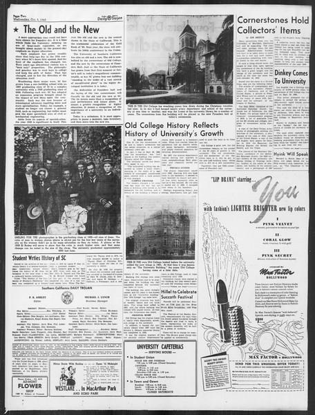 Daily Trojan, Vol. 41, No. 19, October 05, 1949