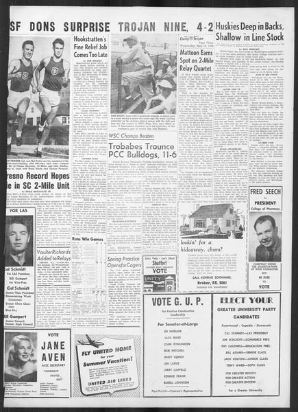Daily Trojan, Vol. 41, No. 133, May 10, 1950
