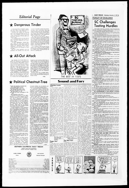 Daily Trojan, Vol. 51, No. 50, December 09, 1959