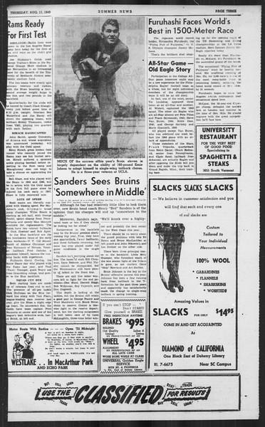 Summer News, Vol. 4, No. 18, August 11, 1949