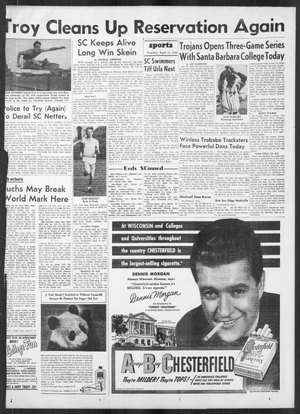 Daily Trojan, Vol. 41, No. 112, April 11, 1950
