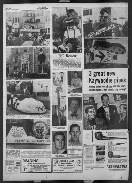 Daily Trojan, Vol. 44, No. 31, October 27, 1952