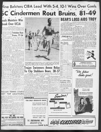 Daily Trojan, Vol. 39, No. 136, May 10, 1948
