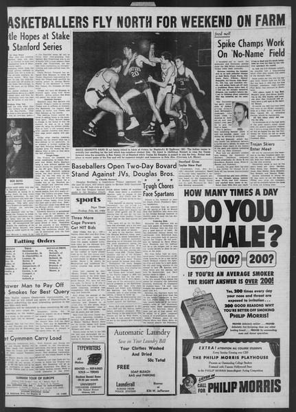 Daily Trojan, Vol. 43, No. 81, February 22, 1952