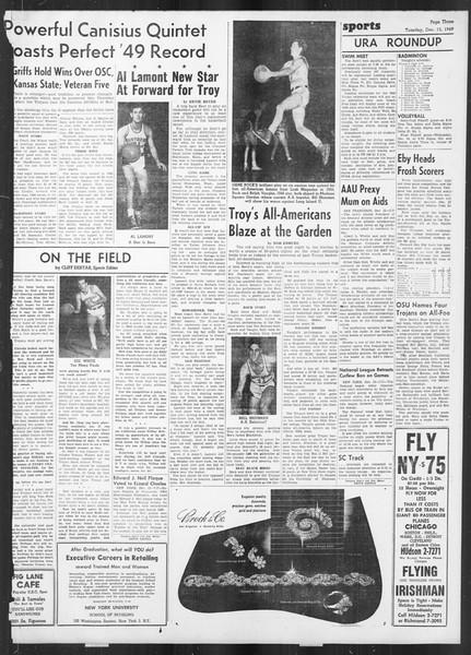 Daily Trojan, Vol. 41, No. 65, December 13, 1949
