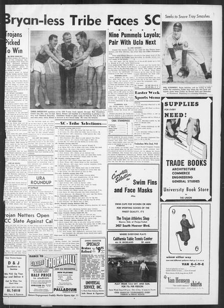 Daily Trojan, Vol. 41, No. 110, April 05, 1950