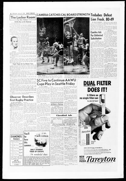 Daily Trojan, Vol. 51, No. 57, January 06, 1960