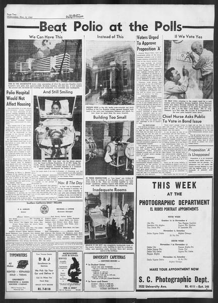 Daily Trojan, Vol. 41, No. 38, November 02, 1949