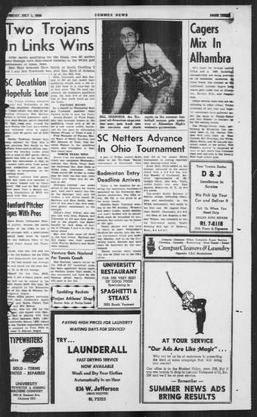 Summer News, Vol. 4, No. 6, July 01, 1949