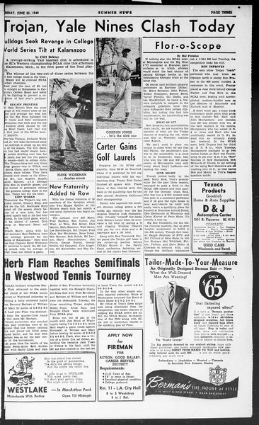Summer News, Vol. 3, No. 3, June 25, 1948