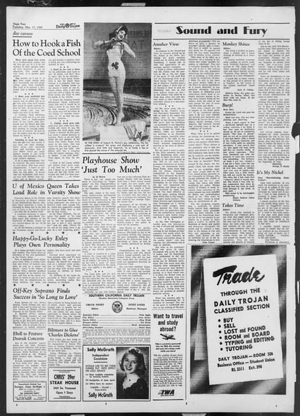 Daily Trojan, Vol. 44, No. 96, March 17, 1953