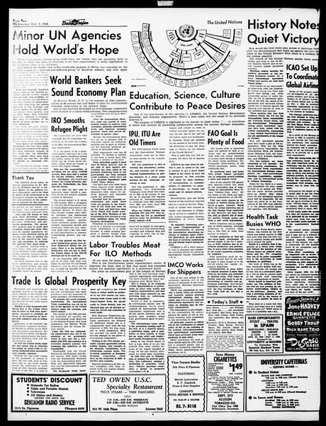 Daily Trojan, Vol. 40, No. 38, November 03, 1948