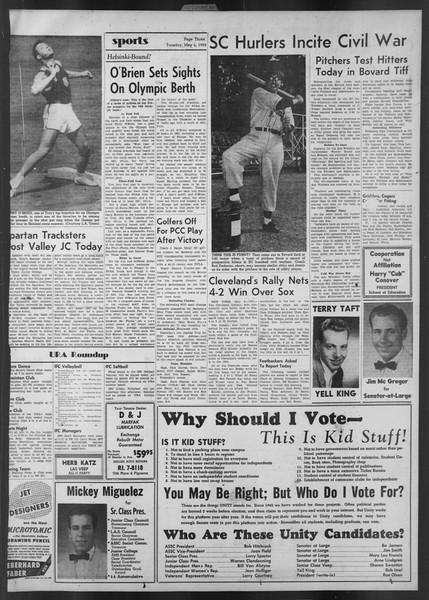 Daily Trojan, Vol. 43, No. 128, May 06, 1952
