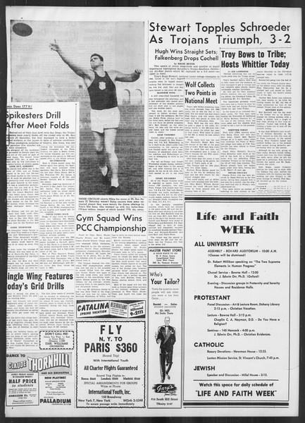 Daily Trojan, Vol. 41, No. 103, March 27, 1950