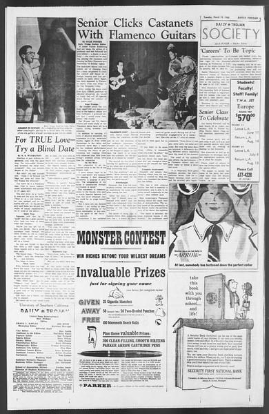 Daily Trojan, Vol. 54, No. 84, March 19, 1963