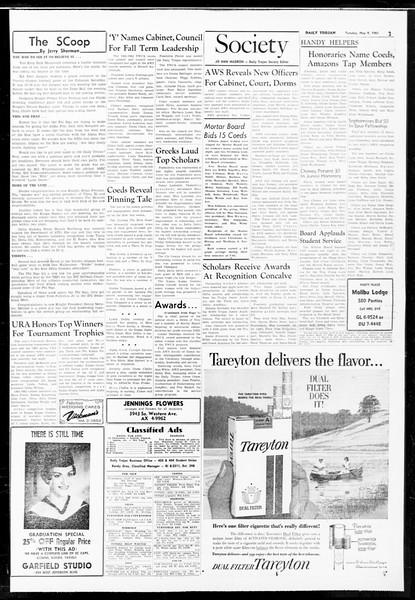 Daily Trojan, Vol. 52, No. 121, May 09, 1961