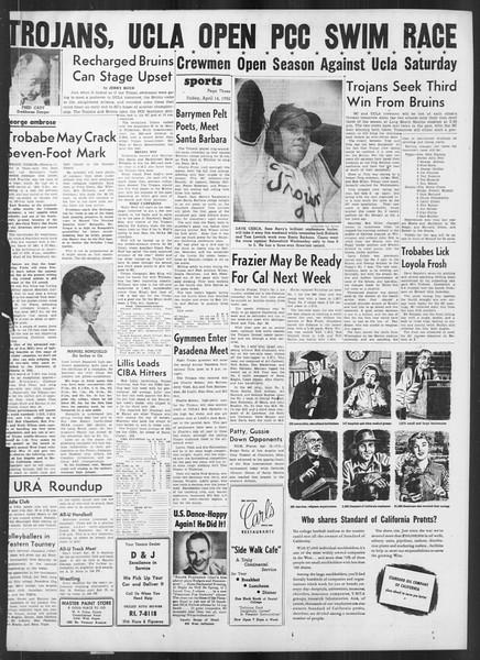 Daily Trojan, Vol. 41, No. 115, April 14, 1950