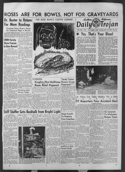 Daily Trojan, Vol. 44, No. 64, December 16, 1952
