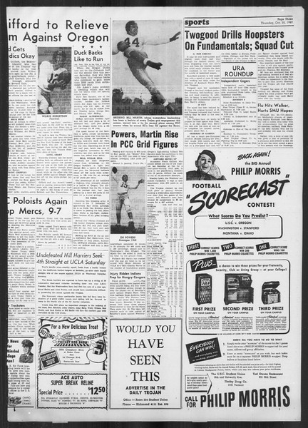 Daily Trojan, Vol. 41, No. 29, October 20, 1949
