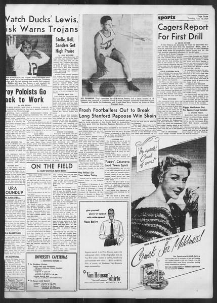 Daily Trojan, Vol. 41, No. 28, October 18, 1949