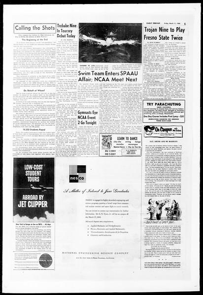 Daily Trojan, Vol. 51, No. 83, March 11, 1960