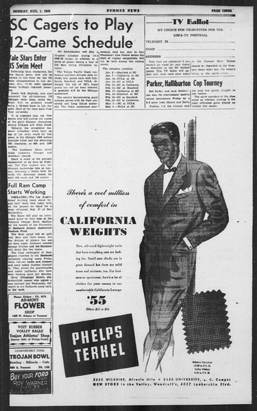 Summer News, Vol. 4, No. 15, August 01, 1949