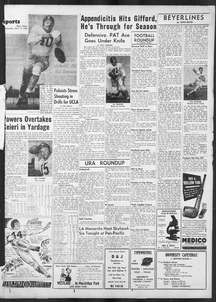 Daily Trojan, Vol. 41, No. 43, November 09, 1949