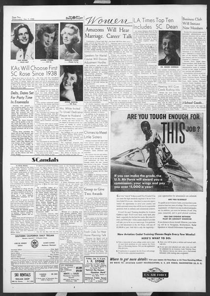 Daily Trojan, Vol. 44, No. 67, January 07, 1953