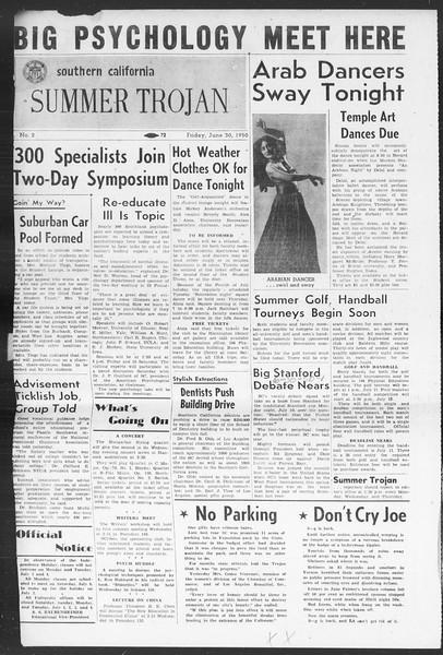 Summer Trojan, Vol. 5, No. 2, June 30, 1950