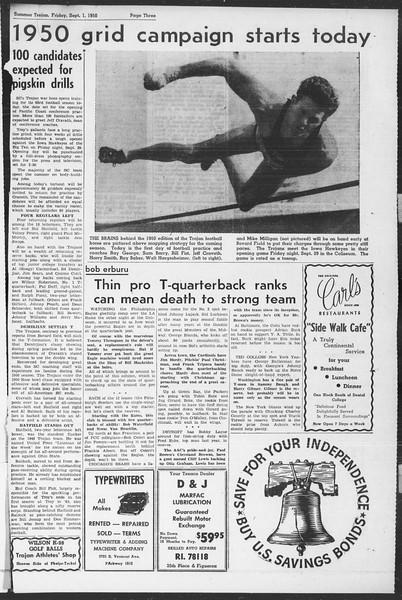 Summer Trojan, Vol. 5, No. 19, September 01, 1950