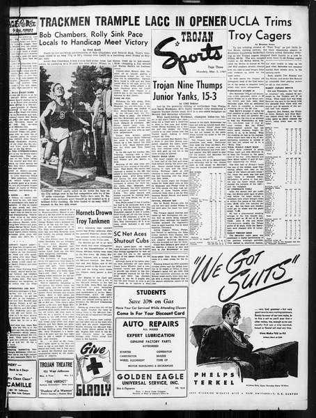 Daily Trojan, Vol. 38, No. 86, March 03, 1947