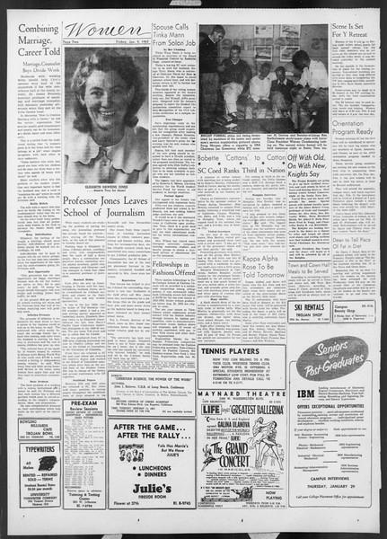 Daily Trojan, Vol. 44, No. 69, January 09, 1953