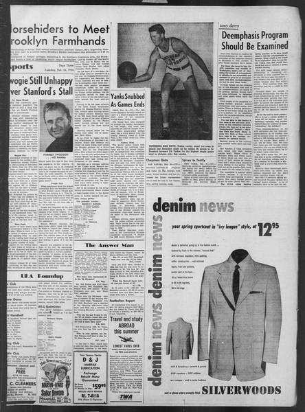 Daily Trojan, Vol. 43, No. 83, February 26, 1952