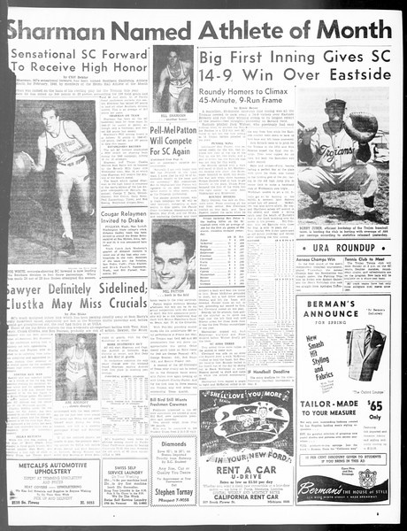Daily Trojan, Vol. 40, No. 90, March 03, 1949