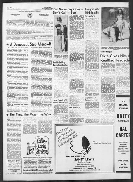 Daily Trojan, Vol. 41, No. 94, March 14, 1950