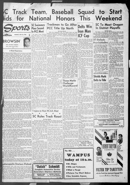 Daily Trojan, Vol. 44, No. 139, May 23, 1953