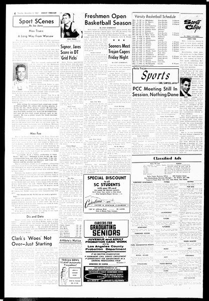 Daily Trojan, Vol. 49, No. 47, December 03, 1957