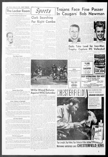Daily Trojan, Vol. 50, No. 24, October 23, 1958