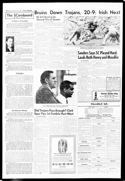 Daily Trojan, Vol. 49, No. 45, November 25, 1957