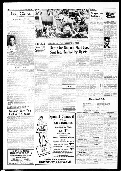 Daily Trojan, Vol. 49, No. 41, November 19, 1957