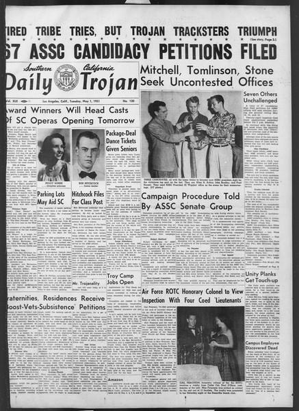 Daily Trojan, Vol. 42, No. 120, May 01, 1951