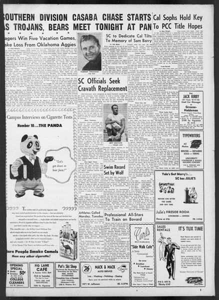 Daily Trojan, Vol. 42, No. 63, January 05, 1951