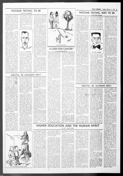 Daily Trojan, Vol. 50, No. 71, February 17, 1959