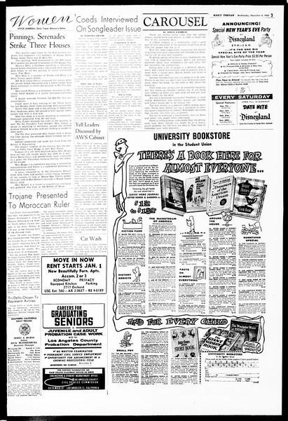 Daily Trojan, Vol. 49, No. 48, December 04, 1957