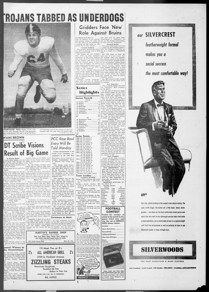 Daily Trojan, Vol. 45, No. 44, November 20, 1953