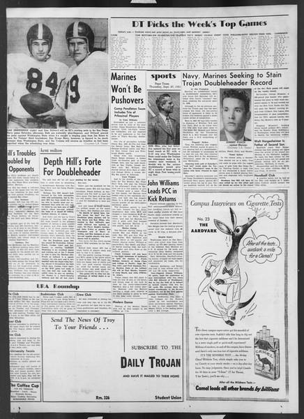 Daily Trojan, Vol. 43, No. 9, September 27, 1951